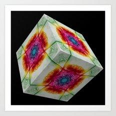 The Cube 7 Art Print