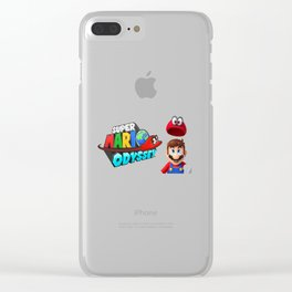 Mario Odyssey Clear iPhone Case