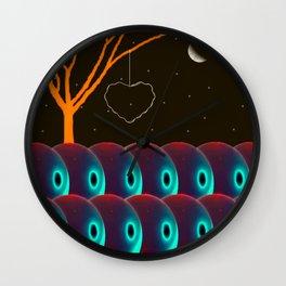 Fantasy Scene - Digital Collage piece Wall Clock