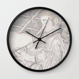 The Fiddler Wall Clock