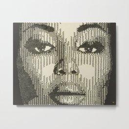 Patterns of Beauty - Naomi Metal Print