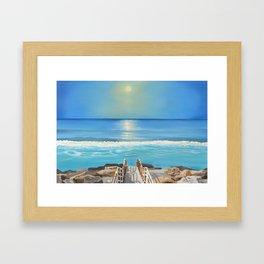 Aberavon Beach Framed Art Print