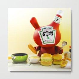 Ketchup Metal Print