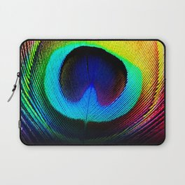 Colorfull Feather Peacock Laptop Sleeve