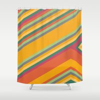 summer Shower Curtains featuring summer by contemporary