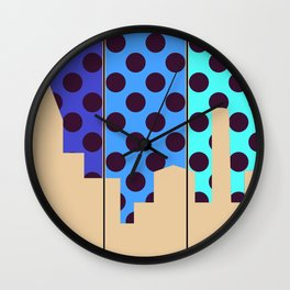 City Autumn Wall Clock