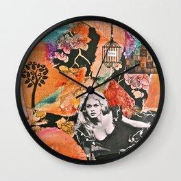 Free Spirit (V.2) Wall Clock