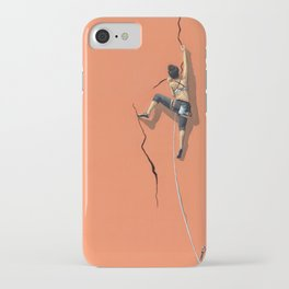 Climbing: Solitude iPhone Case