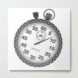 Stopwatch Metal Print