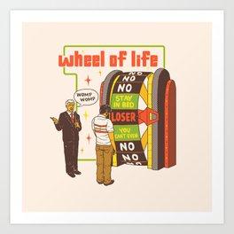 Wheel Of Life Art Print