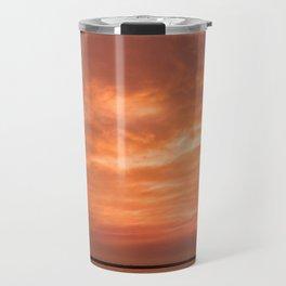 wonderful sunset Travel Mug