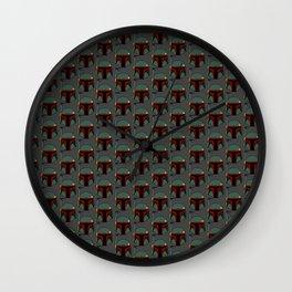 BF Bucket Wall Clock