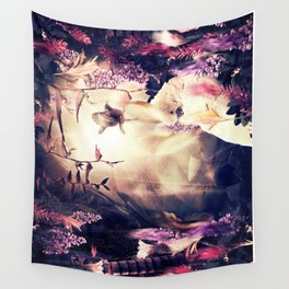 Deep in the jungle Wall Tapestry