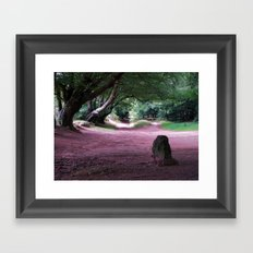 The Triscombe Stone Framed Art Print