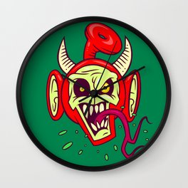 Evil Dead Po Wall Clock