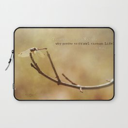 Born with Wings Laptop Sleeve