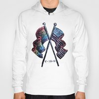 equality Hoodies featuring Equality by Pajamarai Illustrations