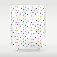 sparkle Shower Curtains featuring Sparkle by lifesetsail