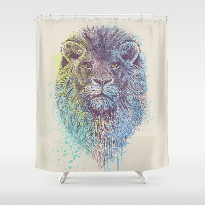 Lion King Shower Curtain By Thirstyfly