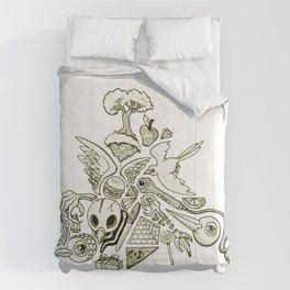 Pyramid (Wonderful Mess Series) Comforters
