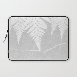 Fern fringe - concrete Laptop Sleeve
