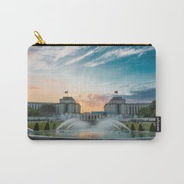 Paris Fountains Carry-All Pouch
