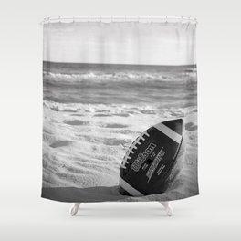 Football Season - Wilson's tropical vacay - Shower Curtain
