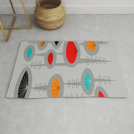 Mid-Century Modern Space Age 2 Rug
