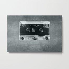 Mixtape Metal Metal Print