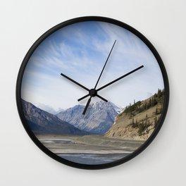Lake Kluane Wall Clock