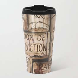 Wine Corks Travel Mug