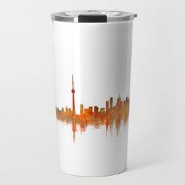 Toronto Canada City Skyline Hq v02 Travel Mug