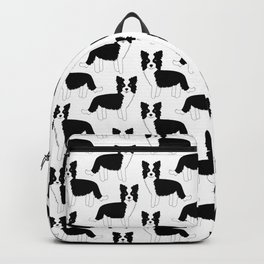 I love my Border Collie Backpack