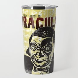 Bela Lugosi s Dracula Fan Art Travel Mug