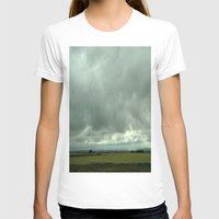 spain T-shirts featuring Spain Countryside by Rosie Brown