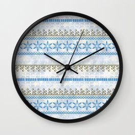 Christmas ornament.1 Wall Clock