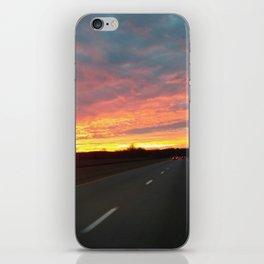 December Sunrise iPhone Skin