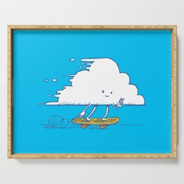 Cloud Skater Serving Tray