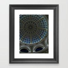 oculus to the night Framed Art Print