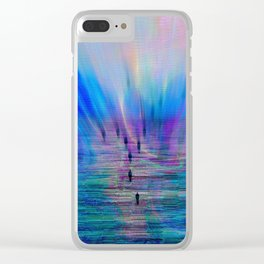 lost identities Clear iPhone Case