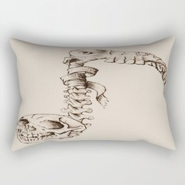 Eighth Note Rectangular Pillow