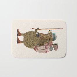 nature bear Bath Mat