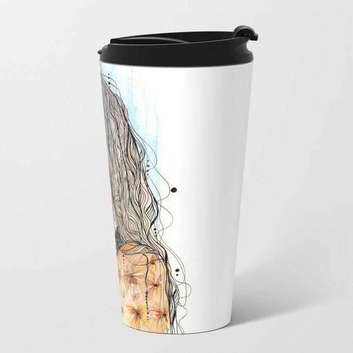 Efflorescence Metal Travel Mug