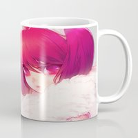 barachan Mugs featuring synthetic by barachan