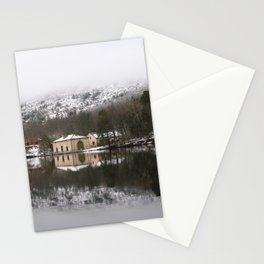 House on the lake Stationery Cards