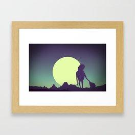 Honey-moon 2 Framed Art Print