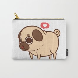 Puglie Heart Carry-All Pouch