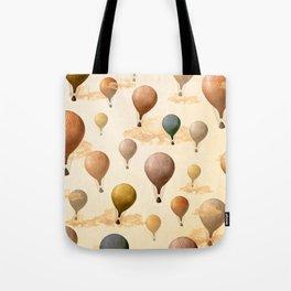 Voyagers Pattern Tote Bag
