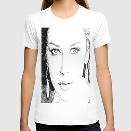 Catherine Zeta Jones Face2 T-shirt