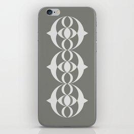 Alien crop circle, Sacred geometry iPhone Skin